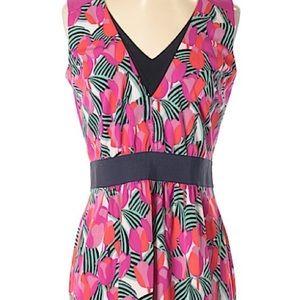 Tory Burch pink print dress